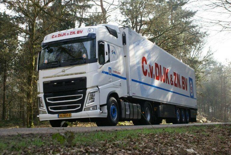 C van Dijk en zonen BV Volvo trekker oplegger